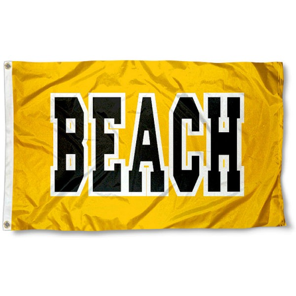 California State Long Beach Polyester Flag