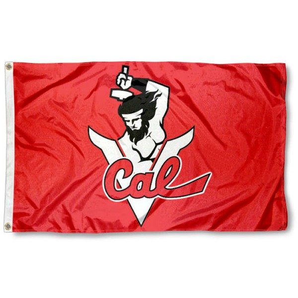 California Vulcans Flag is made of 100% nylon, offers quad stitched flyends, measures 3x5 feet, has two metal grommets, and is viewable from both side with the opposite side being a reverse image. Our California Vulcans Flag is officially licensed by the selected college and NCAA