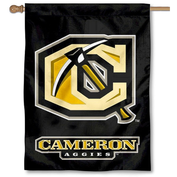 Cameron Aggies Banner Flag is a vertical house flag which measures 30x40 inches, is made of 2 ply 100% polyester, offers dye sublimated NCAA team insignias, and has a top pole sleeve to hang vertically. Our Cameron Aggies Banner Flag is officially licensed by the selected university and the NCAA.