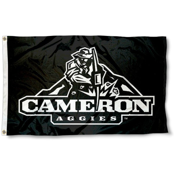 Cameron Aggies Logo Flag measures 3'x5', is made of 100% poly, has quadruple stitched sewing, two metal grommets, and has double sided Team University logos. Our Cameron Aggies 3x5 Flag is officially licensed by the selected university and the NCAA.