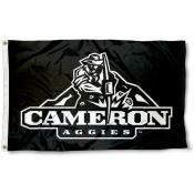 Cameron Aggies Logo Flag