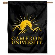 Cameron University Banner Flag