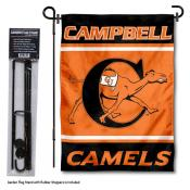 Campbell Fighting Camels Garden Flag and Pole Stand Holder