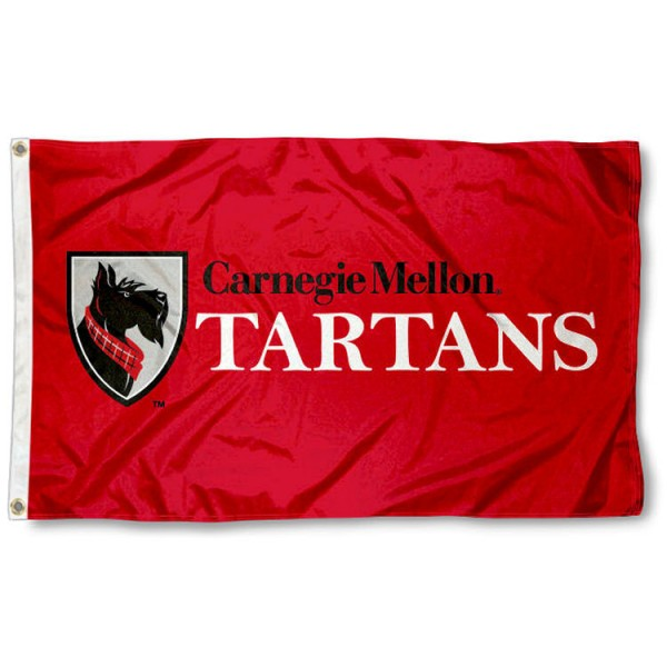 Carnegie Mellon Tartans Flag is made of 100% nylon, offers quad stitched flyends, measures 3x5 feet, has two metal grommets, and is viewable from both side with the opposite side being a reverse image. Our Carnegie Mellon Tartans Flag is officially licensed by the selected college and NCAA