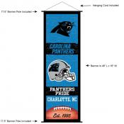 Carolina Panthers Decor and Banner