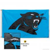 Carolina Panthers Embroidered Nylon Flag