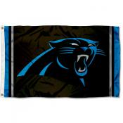 Carolina Panthers Logo Flag