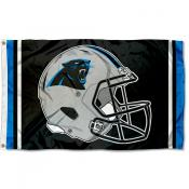 Carolina Panthers New Helmet Flag