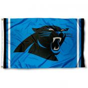 Carolina Panthers Panther Blue Flag