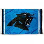 Carolina Panthers Panther Blue Flag
