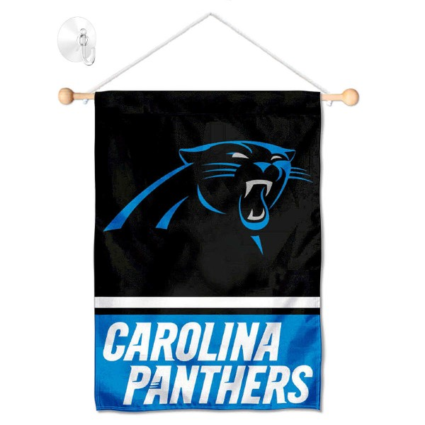 Carolina Panthers Window and Wall Banner
