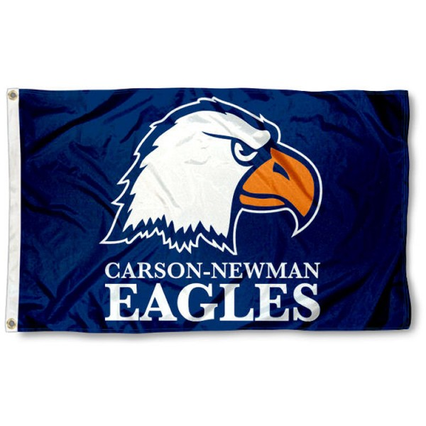 Carson Newman Eagles Flag is made of 100% nylon, offers quad stitched flyends, measures 3x5 feet, has two metal grommets, and is viewable from both side with the opposite side being a reverse image. Our Carson Newman Eagles Flag is officially licensed by the selected college and NCAA