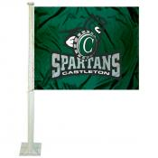 Castleton Spartans Logo Car Flag