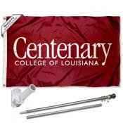 Centenary College Flag Pole and Bracket Kit