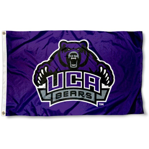 Central Arkansas Bears Flag measures 3'x5', is made of 100% poly, has quadruple stitched sewing, two metal grommets, and has double sided UCA Bears logos. Our Central Arkansas Bears Flag is officially licensed by the selected university and the NCAA.