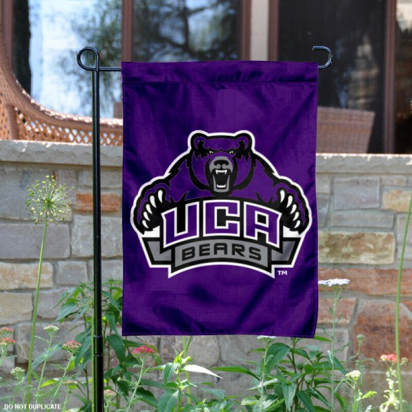 Central Arkansas University Garden Flag is 13x18 inches in size, is made of 2-layer polyester, screen printed Central Arkansas University athletic logos and lettering. Available with Same Day Express Shipping, Our Central Arkansas University Garden Flag is officially licensed and approved by Central Arkansas University and the NCAA.