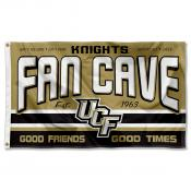 Central Florida Knights Fan Man Cave Game Room Banner Flag