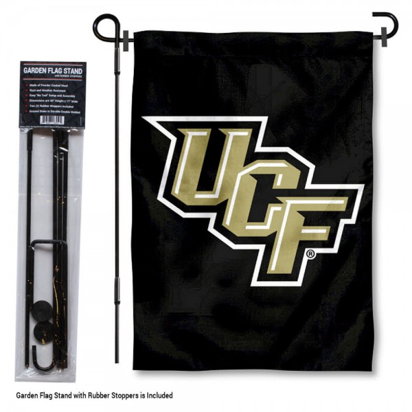 Central Florida Knights Garden Flag and Stand