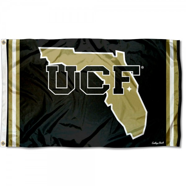 Central Florida Knights Throwback Vault Logo Flag measures 3x5 feet, is made of 100% polyester, offers quadruple stitched flyends, has two metal grommets, and offers screen printed NCAA team logos and insignias. Our Central Florida Knights Throwback Vault Logo Flag is officially licensed by the selected university and NCAA.