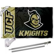Central Florida Knights UCF Helmet Flag Pole and Bracket Kit
