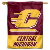 Central Michigan Chippewas Double Sided House Flag