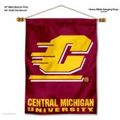 Central Michigan Chippewas Wall Banner