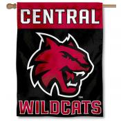 Central Washington Wildcats Double Sided House Flag
