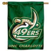 Charlotte 49ers House Flag