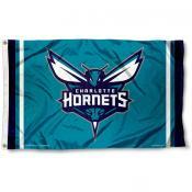 Charlotte Hornets Team Flag