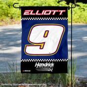 Chase Elliott NASCAR Driver Double Sided Garden Flag