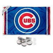Chicago Baseball Banner Flag with Tack Wall Pads