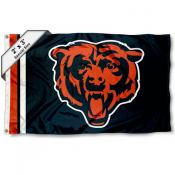 Chicago Bears 2x3 Feet Flag