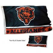 Chicago Bears Allegiance Flag