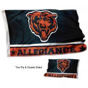 Chicago Bears Allegiance Flag