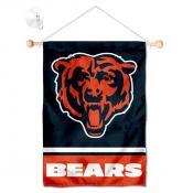 Chicago Bears Head Logo Window and Wall Banner