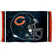 Chicago Bears New Helmet Flag