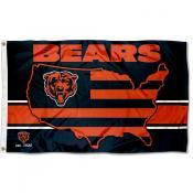 Chicago Bears USA Country Flag