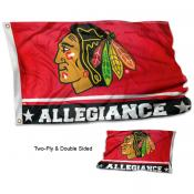 Chicago Blackhawks Allegiance Flag