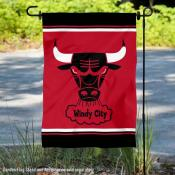 Chicago Bulls Retro Hardwood Classics Double Sided Garden Flag