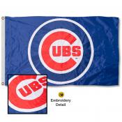 Chicago Cubs Embroidered Nylon Flag