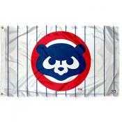 Chicago Cubs Vintage 80s Logo Flag