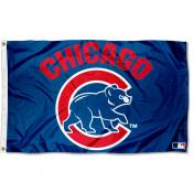 Chicago Cubs Walking Bear Flag