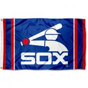 Chicago White Sox Retro Logo Flag