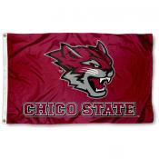 Chico State Wildcats New Logo Flag