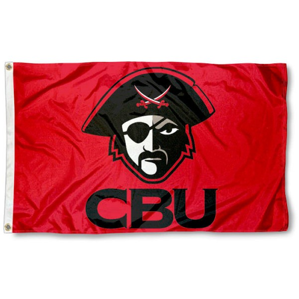 Christian Brothers Buccaneers Flag is made of 100% nylon, offers quad stitched flyends, measures 3x5 feet, has two metal grommets, and is viewable from both side with the opposite side being a reverse image. Our Christian Brothers Buccaneers Flag is officially licensed by the selected college and NCAA