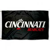 Cincinnati Bearcats Black Outdoor Flag
