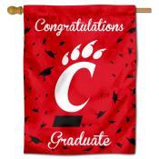 Cincinnati Bearcats Congratulations Graduate Flag
