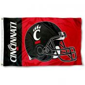 Cincinnati Bearcats Football Flag