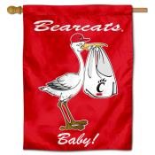 Cincinnati Bearcats New Baby Flag