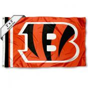 Cincinnati Bengals 2x3 Feet Flag